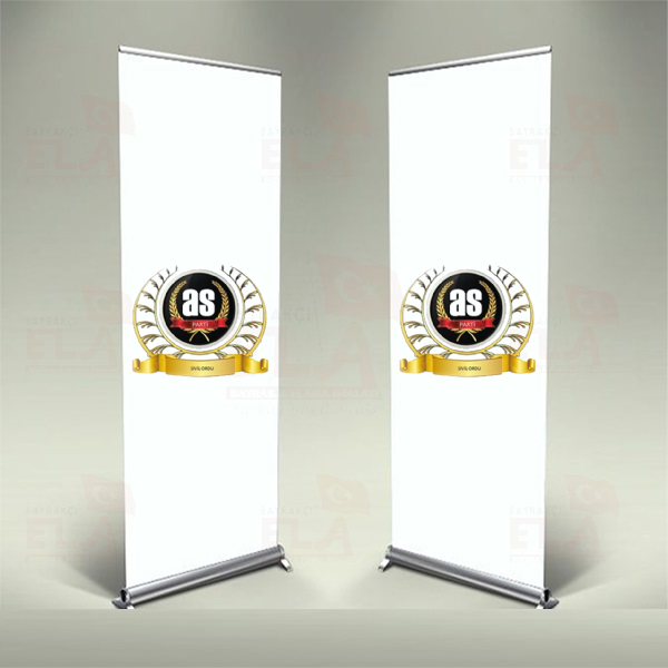 As Parti Banner Roll Up