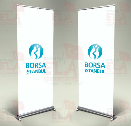 Borsa istanbul Banner Roll Up