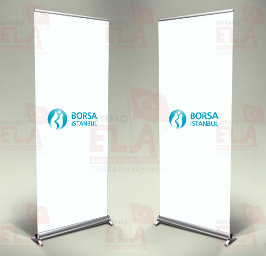 istanbul Borsa Banner Roll Up